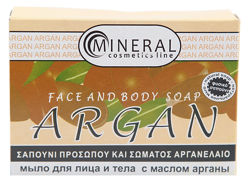 Face and body soap argan by Mineral Cosmetics 1+1 δώρο