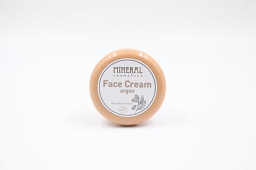 Face cream argan by Mineral Cosmetics 1+1 δώρο