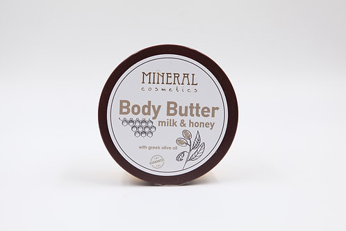 Body Butter milk & honey by Mineral Cosmetics