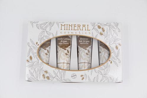 Gift Set argan edition by Mineral Cosmetics 1+1 δώρο