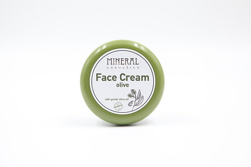 Face cream olive by Mineral Cosmetics 1+1 δώρο