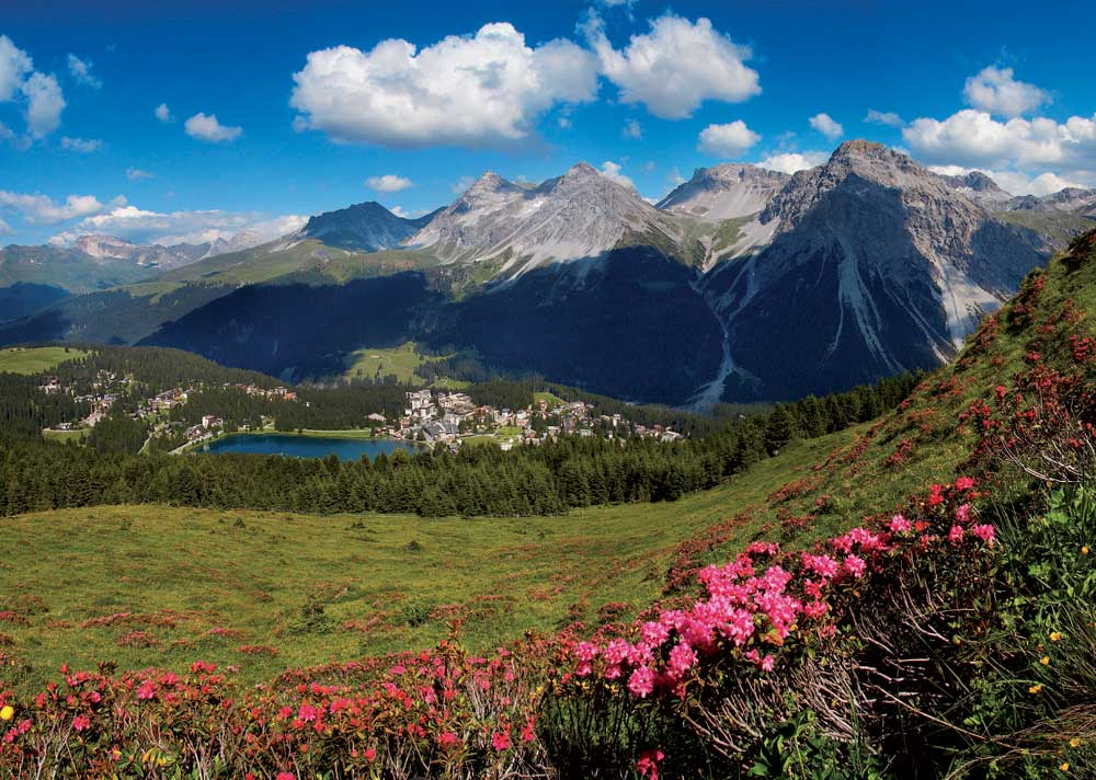 Arosa Sommer Obersee