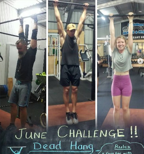 NorthShore Muscle and Fitness  - Monthly Challenge