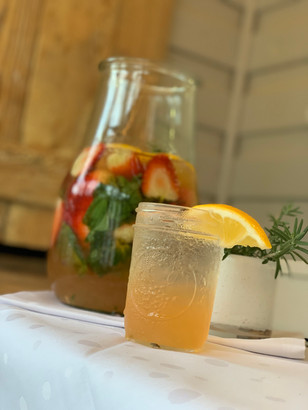 lemonade on the porch