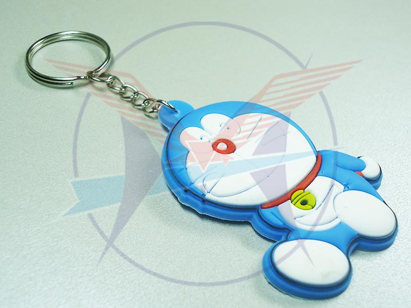 Móc khóa cao su 3D - doremon