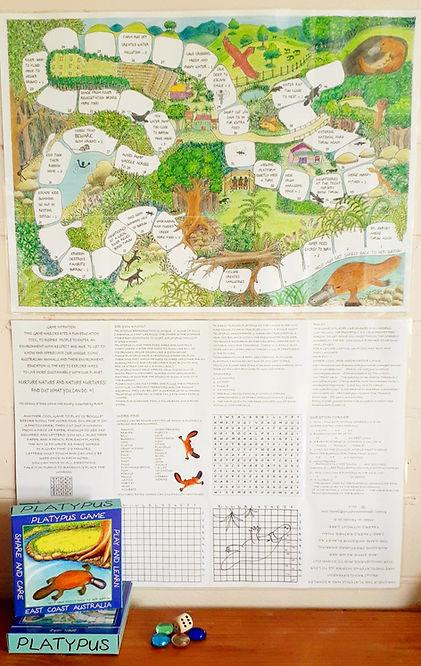 Platypus game Yungaburra Queensland Australia.jpg