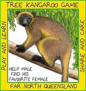 TREE KANGAROO GAME MALANDA ATHERTON TABLELANDS  NORTH QLD AUSTRALIA BEST GAMES.JPG