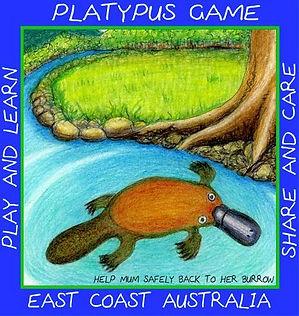 PLATYPUS GAME  YUNGABURRA EAST COAST OF AUSTRALIA BEST GAMES.JPG