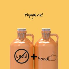 Lead Free + Food Safe