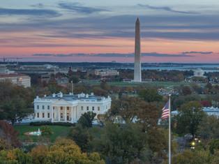 DC Autumn Sunset