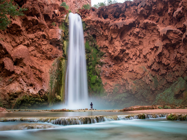 Below Mooney Falls
