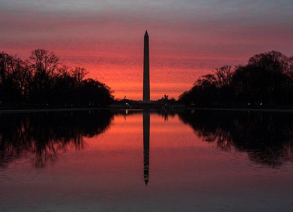 Washington Orange Dawn