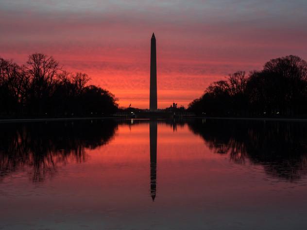 Washington Orange Sunrise