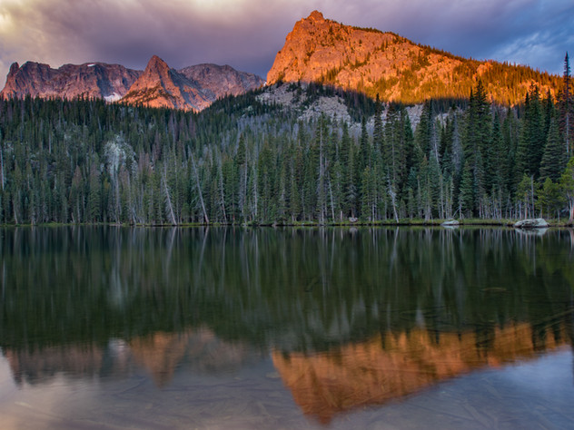 Fern Lake Sunrise