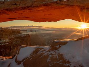 Sunrise at Canyonlands