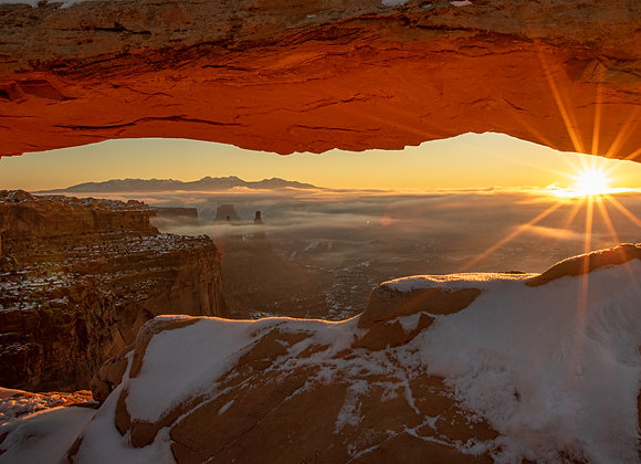 Sunrise at Canyonlands