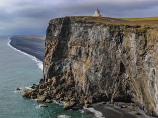Dyrholaeys Cliff