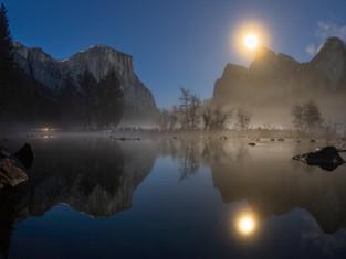 Yosemite Full Moon