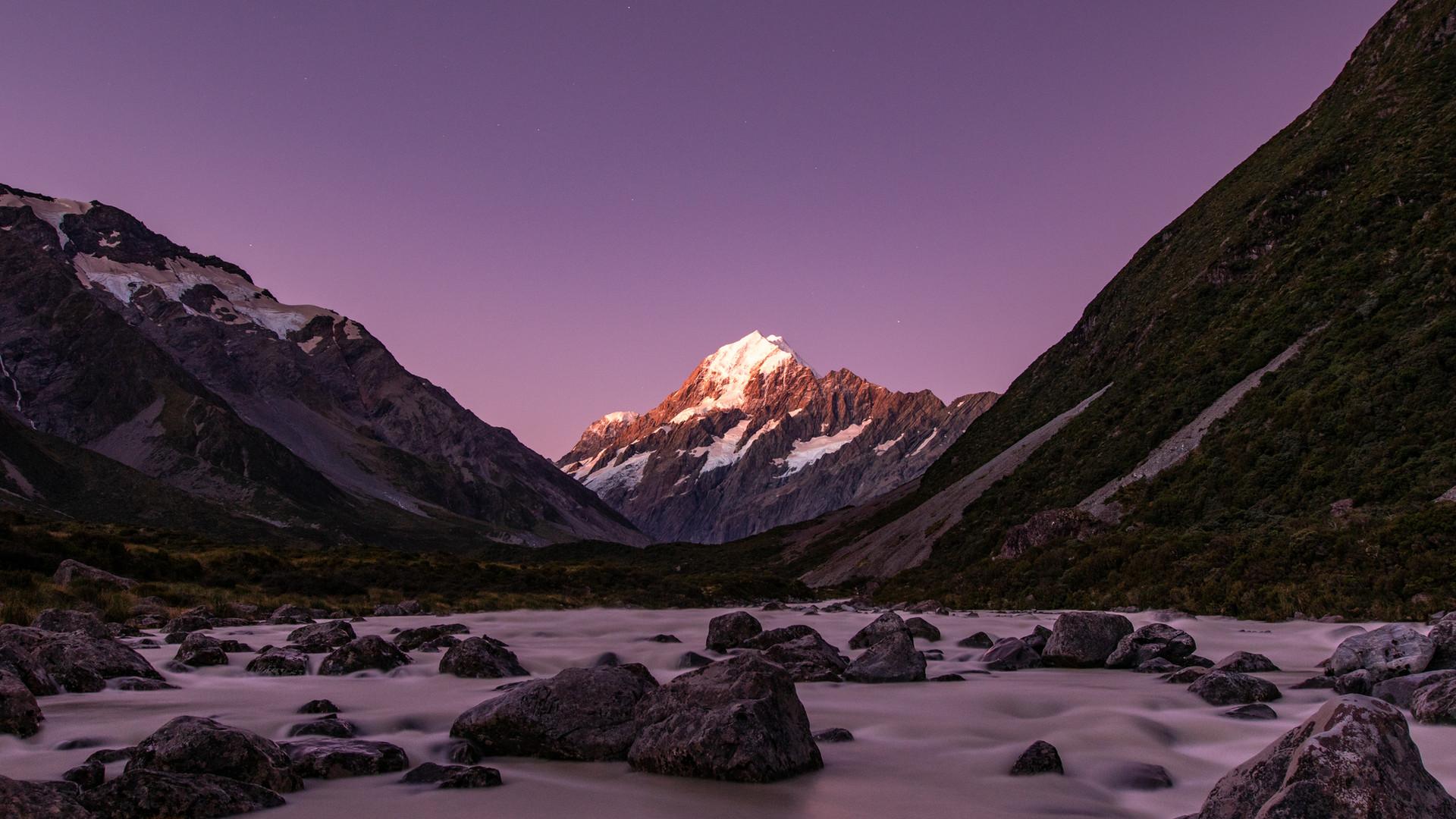Mt. Cook Purple