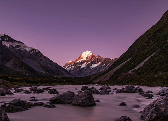 Mt. Cook Purple