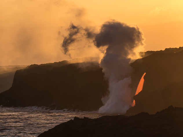 Golden Hour Lava