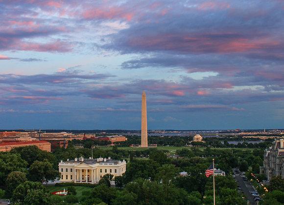 White House Sunset