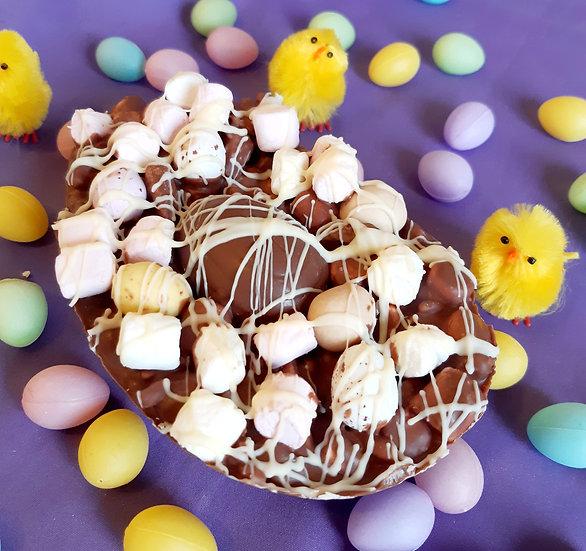 Rocky Road Solid Easter Egg Large CREME EGG