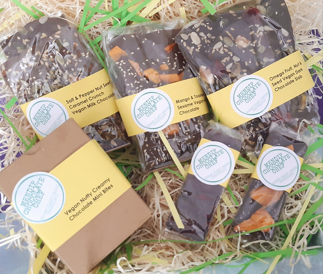 All About Vegan Chocolate Gift Box