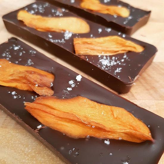 Mango & Sea Salt Vegan Dark Chocolate Bar
