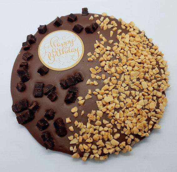 Happy Birthday Chocolate Medallion