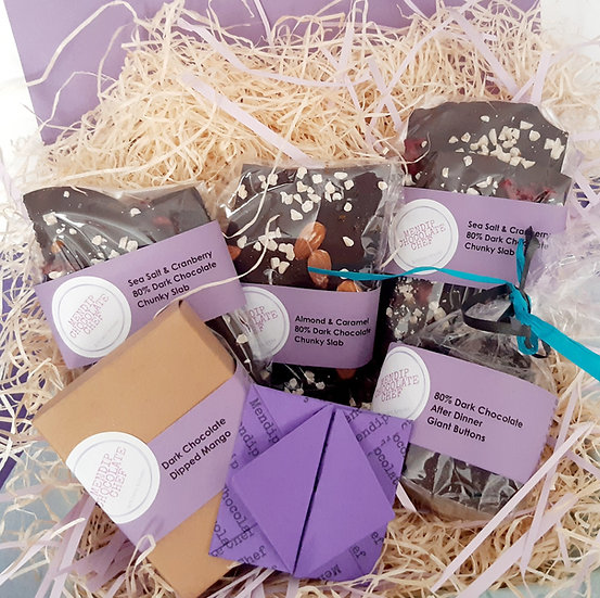 All About Dark Chocolate Gift Box