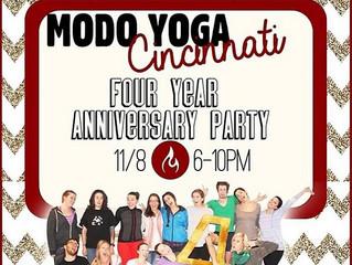 Modo Yoga 30-Day Challenge + Party