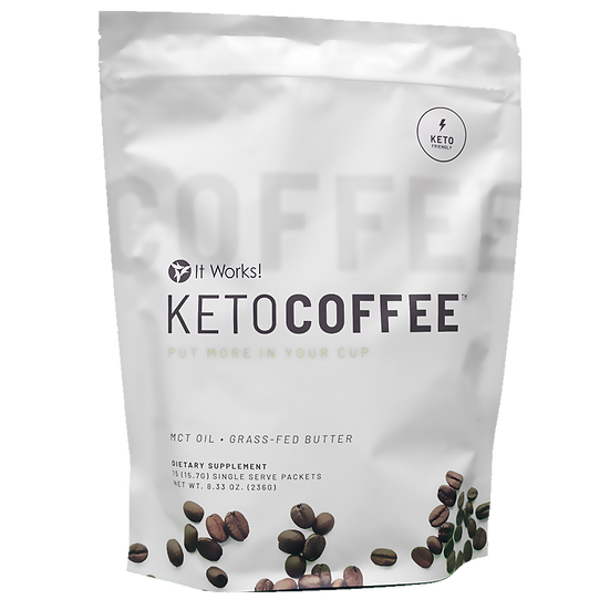 KETO Coffee Pouch (15 Pack)