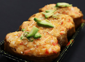 Crab Salad Inari