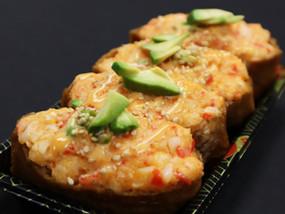 Crab Salad Inari $5.99