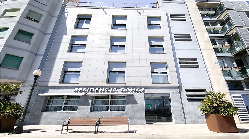 Fachada Residencia Danae