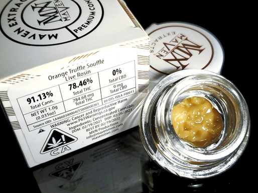 Maven Extracts Live Rosin