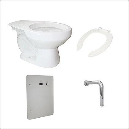 "Porcelana sanitaria, taza, grifo de sensor, tubo en ""L"""
