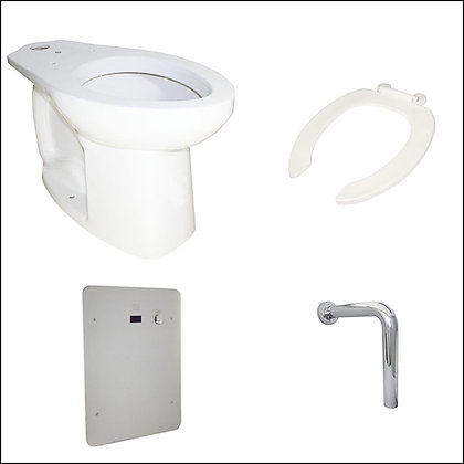 "Porcelana sanitaria movilidad reducida, taza, grifo de sensor, tubo en ""L"""