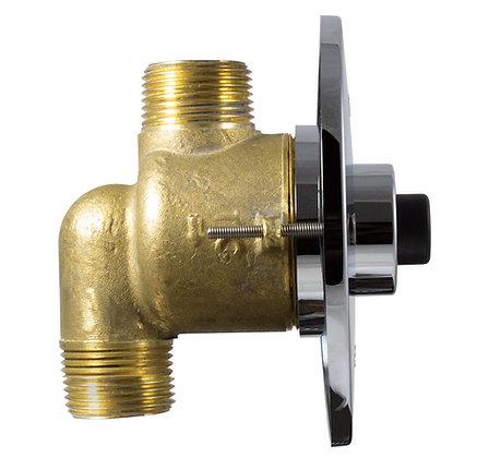 Válvula de descarga sanitaria Eco-Click Cuerpo de bronce
