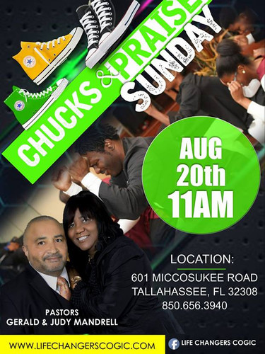 Life Changers Chucks & Praise Sunday Service