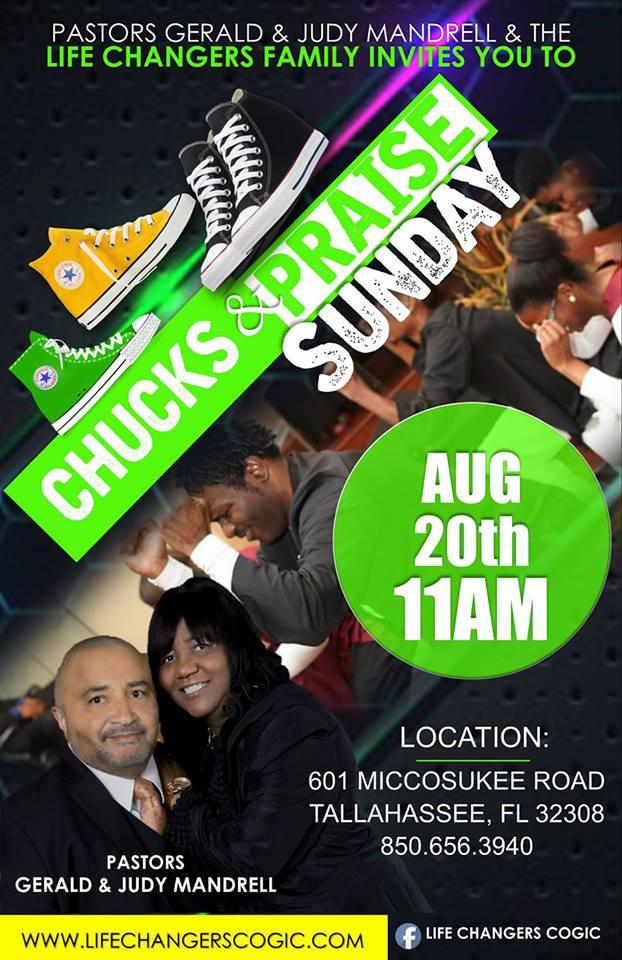 Life Changers Chucks & Praise Sunday Service