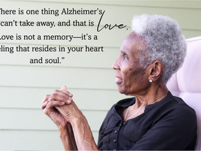 YOUR LOVE - Alzheimer's Can't Take That Away From Me!