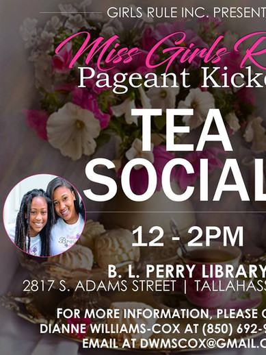 Girls Rule Miss Girls Rul Pageant Kickoff Tea Social