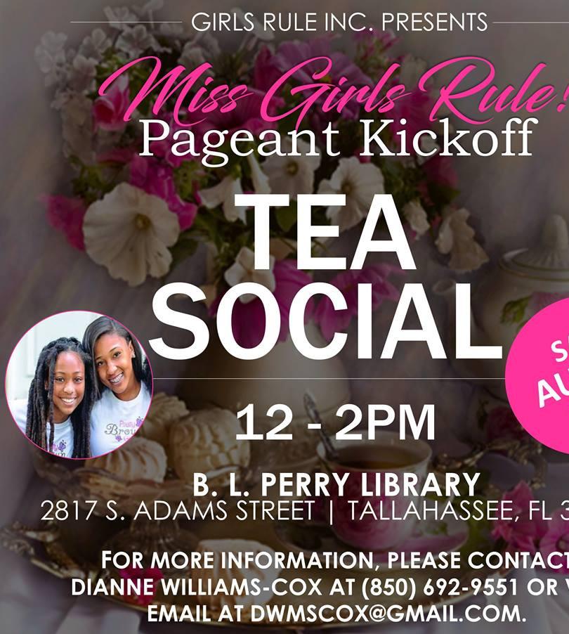 Girls Rule Miss Girls Rul Pageant Kickoff Tea Social