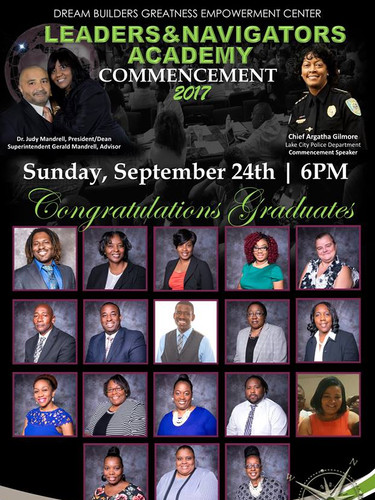 Dream Builders Leaders & Navigators Academy Commencement 2017