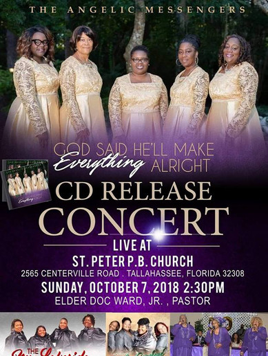 Angelic Messengers CD Release Concert
