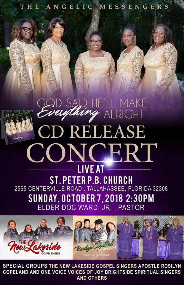 Angelic Messengers CD Release Concert