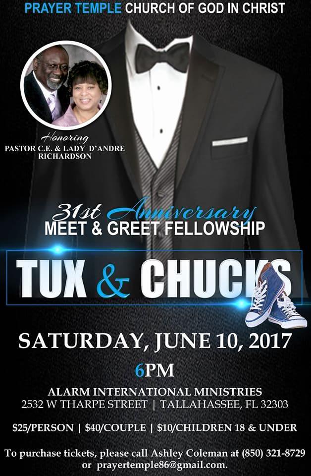 Prayer Temple Tux & Chucks