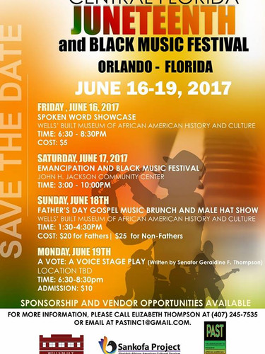Central Florida Juneteenth Black Music Festival